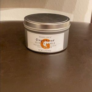 Trader Joe's Gingerbread Soy Candle
